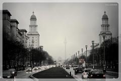 Frankfurter Allee - Berlin (DE) (pietro_pontieri) Tags: city urban panorama berlin fog traffic rainy urbano frankfurter berlino