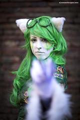 181 (Alessandro Gaziano) Tags: portrait woman colors girl costume foto cosplay lucca sguardo cosplayer fotografia colori ritratto costumi luccacomics alessandrogaziano