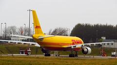 D-AEAP,EDI 14.3.16 (Mike stanners) Tags: airbus edi dhl a300 freightliner