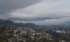 Abbottabad in Fog (Shehzaad Maroof Khan) Tags: winter pakistan mist mountains nature rain fog clouds landscape shimla nikon abbottabad