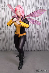 x-men pixie 04 (CE Photogenetix) Tags: pink portrait woman halloween beautiful beauty metal female silver comics studio fly flying costume fight wings comic cosplay action flight pixie fairy xmen hero superhero fairey fighting marvel catsuit select canon40d christinaedwards