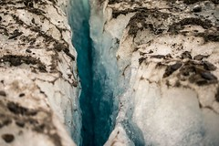 Cracked (Nico Caramella) Tags: travel viaje patagonia white ice closeup composition anne amazing dangerous focus colorful exposure glacier crack difficult traveling moment capture glaciar stillness hielo abyss unstable photooftheday grieta glaciarviedma allshots