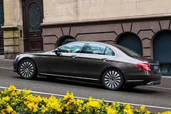 fast lane fast car (stevew1der) Tags: car yellow mercedes benz stuttgart fast lane mercedesbenz 0711 stern daimler hankook felgen