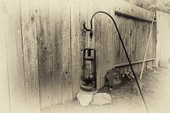Before Electricity (Sonarsgs) Tags: old light blackandwhite oillamp