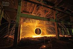NOCTURNA 7 (JuanMa-Zafra) Tags: lana nikon fuego nocturnas acero 1735mm exposicin extremadura esferas iluminar chispas trpode linternas d700 intervalometro