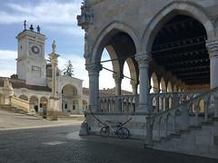 (Paolo Cozzarizza) Tags: italia piazza statua scorcio municipio udine friuliveneziagiulia