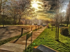 Sunny setting in Eltham. (ben.beedell1) Tags: sunset england sky london beautiful clouds photography cool eltham hdrphotography