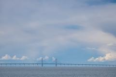 resundsbron (Infomastern) Tags: bridge sea cloud water bro malm vatten hav moln resundsbron vstrahamnen