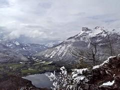 Altausseer See from Tressenstein (formilock) Tags: mountain mountains alps montagne alpes landscape austria österreich outdoor running berge alpen landschaft alpi steiermark styria laufen montagnes badaussee tressenstein aussee salzkammergut trailrunning ausseerland altausseersee ostalpen berglauf traillauf