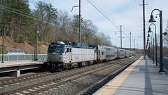 Amtrak946BaltimoreMD4-6-16 (railohio) Tags: maryland trains baltimore amtrak marc j1 commutertrain aem7 040616 bwithurgoodmarshallairport