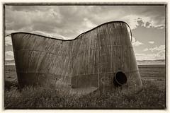 MODERN ARCHITECTURE (akahawkeyefan) Tags: sky broken clouds tank bent carrizoplain davemeyer