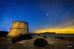 Rovira's Tower (Kiu Photography) Tags: longexposure nightphotography urban tower island torre nightscape ibiza nocturna eivissa exploration isla largaexposicion fortificacion