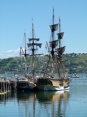 tall ships (Jef Poskanzer) Tags: t geotagged ships sausalito tallships geo:lon=12249412 libertyshipmarina geo:lat=3786404