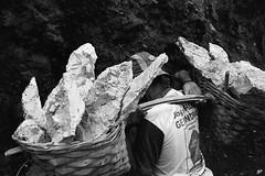 Mt. Ijen, Indonesia. 2016 (Mambo Ferido) Tags: film indonesia essay kodak voigtlander trix streetphotography 1600 fujifilm neopan sulfur miners photoessay travelphotos pushedfilm ijen photodocumentary traveldocumentary sulfurminers filmshooters leicaimage believeinfilm staybrokeshootfilm