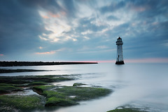 Perch Rock 14 (GOLDENORFE) Tags: longexposure sunset perchrock littlestopper 5dsr