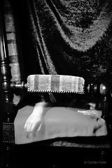 "86/365 ""S'assoupir"" (ophelie.poirier) Tags: woman selfportrait abstract girl monochrome strange hair photography weird scary chair photographie hand arm autoportrait artistic noiretblanc sleep ghost surrealist 365 mains challenge apparition fantme fauteuil abstractions artistique abstrait surraliste project365 365days 365project 365challenge"