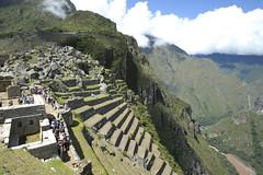 Machu Picchu_terraced fields 1014863 (Yori Hirokawa) Tags: peru machu picchu inca fields terraced