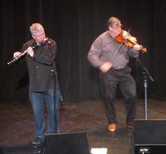 Liam Kelly and Kevin Burke (cohodas208c) Tags: flute fiddle dervish irishmusic celticmusic kevinburke liamkelly