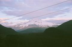 80750012 (aspininaspiritcar) Tags: sunset summer sky mountain snow film clouds oregon 35mm pass rangefinder yashica mounthood lolopass