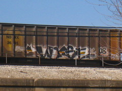 WYSE (Billy Danze.) Tags: chicago graffiti sws d30 freight wyse a2m