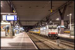 11-12-15 NS 186 236 + ICD, Rotterdam Centraal (Julian de Bondt) Tags: ic rotterdam ns 186 direct centraal icd nsr icr icrm icrmh
