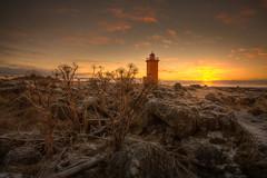 Angelicas (Kiddi Einars) Tags: sunset sun lighthouse angelicas hvnn viti stafnesviti