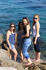 Capri (mathildepoupin) Tags: voyage travel blue mer capri vacances holidays italia ile bleu italie amies isola