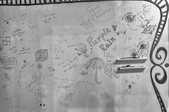 StPaulArtCrawl2016_46336-.jpg (Mully410 * Images) Tags: blackandwhite monochrome wall graffiti stpaul purplerain 2016 artcrawl niksilverefexpro