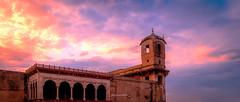 Shahi Qila terrace (Fortunes2011. Haunting Nostalgia) Tags: pakistan sky architecture clouds terrace unesco worldheritagesite lahore hdr redfort badshahimasjid lahorefort shahiqila 15thcentury mughal lalqila emperorakbar fortunes2011nikon