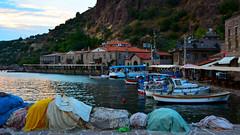 Assos Ancient Cities. Assos Harbor (Feridun F. Alkaya) Tags: turkey greek ancient ngc historical assos asos behramkale assus