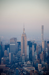 Empire State building (jgrewal_12) Tags: world new york city building architecture state center observatory empire trade d7000