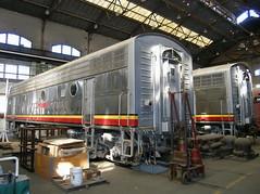 ATSF 347 B Sacramento Shops 9-22-05 (jsmatlak) Tags: railroad museum train engine sp shops locomotive sacramento atsf csrm