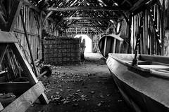 Old boatshed (WillemijnB) Tags: boot boat shed bateau grange boatshed schuur