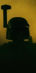 boba fett (lego version) (jooka5000) Tags: cinema silhouette toy starwars lego scene plastic bobafett teaser toyphotography bontyhunter