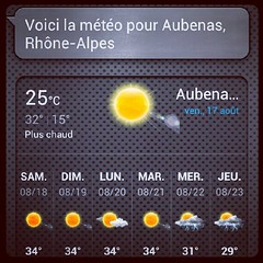 #Aubenas #Ardche #France #Weather #Sun #yes (danielrieu) Tags: sun france weather yes ard aubenas uploaded:by=flickstagram instagram:photo=259892220437636389186911192