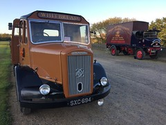 London Brighton 2016 (South Strand Trucking) Tags: vintage whitbread lorry brewery sentinel hcvs dennispax