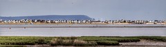 Beach Huts (Thank you for 4M+ views.) Tags: panorama money beach huts dorset expensive mudeford nickfewings
