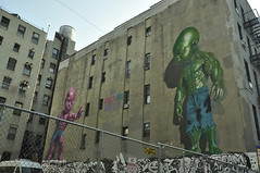 New York (bgential) Tags: newyork mural mur peint trompeloeil fresque murale