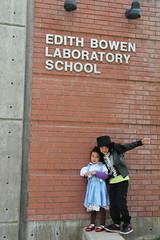 Olsen and Jovie in Halloween costumes at school 1 (Aggiewelshes) Tags: halloween dorothy october halloweencostume olsen jovie 2015 edithbowen skeletonrocker