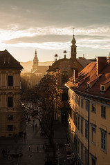 141223_Schloßberg_019 (Rainer Spath) Tags: sunset dawn austria evening abend österreich sonnenuntergang dämmerung graz steiermark autriche styria schlosberg schlosbergplatz