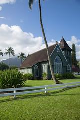 Church in Hanalei Bay (Tim Gupta) Tags: church hawaii kauai hanaleibay