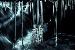 Ice Strains (Explored) / Thank you all! (Fredrik Lindedal) Tags: winter light ice water waterfall vinter nikon rocks sweden sverige strains d7200