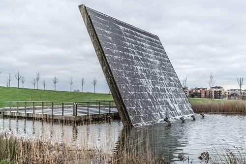 Wind Powered Public Park In Clongriffin Dublin [Father Collins Park]-110988