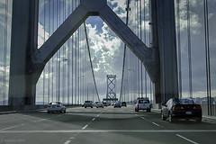 On The Bridge (Greatest Paka Photography) Tags: sanfrancisco road bridge oakland bay traffic suspension baybridge yerbabuenaisland americanbridgecompany oaklandbaybridge charleshpurcell williebrownbridge