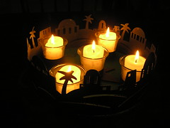 The Circle is Complete (mudder_bbc) Tags: christmas light holidays candles advent adventwreath 2015
