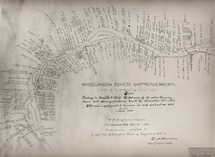 Wisconsin River Improvements pre 1882
