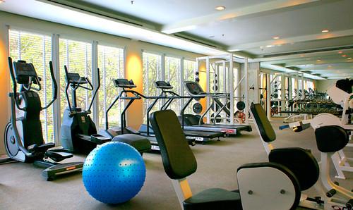 Goede fitness apparatuur in het Dusit Thani Hua Hin