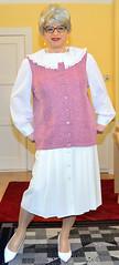 Ingrid021343 (ingrid_bach61) Tags: skirt blouse mature bluse pleated faltenrock