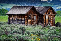 Sheds (JRJImages) Tags: nature buildings shed wyoming mormonrow grandtetonrange
