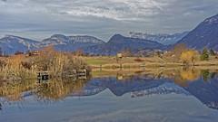 Lac de St Andr - Les Marches - Savoie (D.Goodson) Tags: st lac didier goodson andr marches bonfils